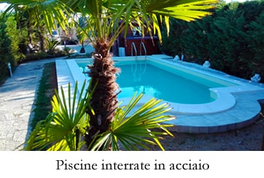 Fotogallery - Piscine interrate in acciaio in kit