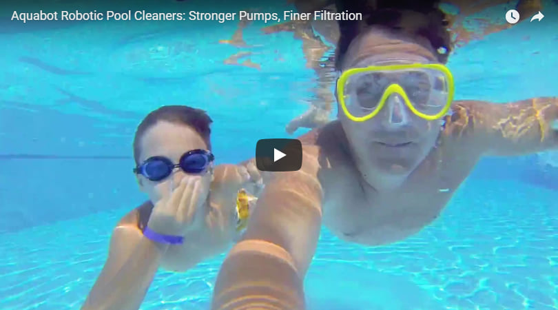 Robot pulitore piscina Falcon K100: video